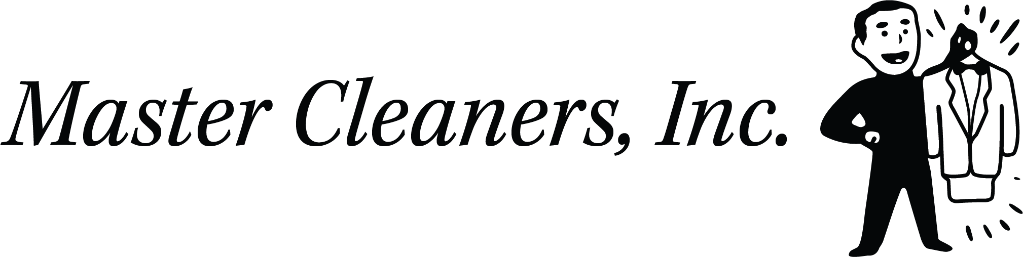Master Cleaners And Alterations Dry Cleaners Logo